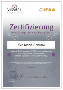 Zertifizierung RYS 200